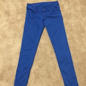 Lilly Pulitzer Worth skinny Brewster blue pants 0